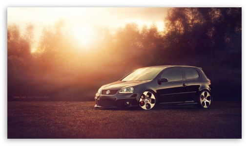 Volkswagen Golf GTI MKV 4K HD Desktop Wallpaper For 4K