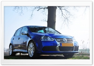 Volkswagen Golf R32 HD Wide Wallpaper for Widescreen