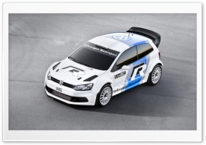 Volkswagen Polo WRC HD Wide Wallpaper for Widescreen