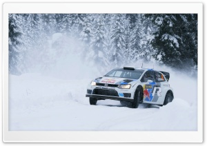 Volkswagen Rally HD Wide Wallpaper for Widescreen