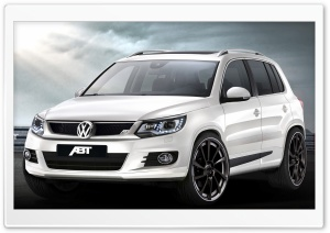 Volkswagen Tiguan ABT Sportsline HD Wide Wallpaper for Widescreen