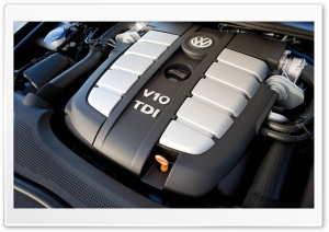 Volkswagen V10 TDI Engine HD Wide Wallpaper for Widescreen
