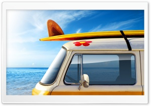 Volkswagen Van HD Wide Wallpaper for Widescreen