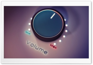 Volume Up HD Wide Wallpaper for Widescreen