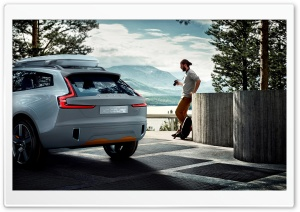 Volvo Concept XC Coupe HD Wide Wallpaper for Widescreen