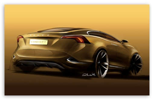 Volvo S60 Concept Sketch 1 HD wallpaper for Wide 16:10 5:3 Widescreen WHXGA WQXGA WUXGA WXGA WGA ; HD 16:9 High Definition WQHD QWXGA 1080p 900p 720p QHD nHD ; Standard 3:2 Fullscreen DVGA HVGA HQVGA devices ( Apple PowerBook G4 iPhone 4 3G 3GS iPod Touch ) ; Mobile 5:3 3:2 16:9 - WGA DVGA HVGA HQVGA devices ( Apple PowerBook G4 iPhone 4 3G 3GS iPod Touch ) WQHD QWXGA 1080p 900p 720p QHD nHD ;