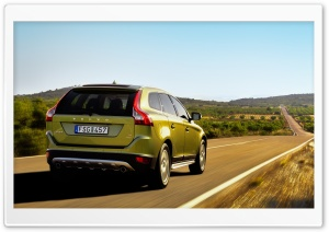 Volvo XC60 Car HD Wide Wallpaper for Widescreen