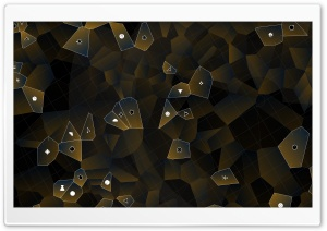 Voronoi Cells HD Wide Wallpaper for 4K UHD Widescreen desktop & smartphone