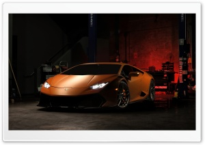 Vorsteiner Lamborghini Huracan V-FF 105 2016 HD Wide Wallpaper for 4K UHD Widescreen desktop & smartphone