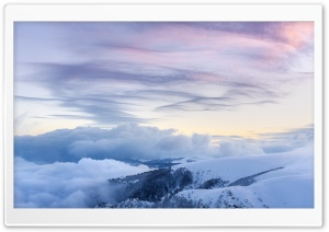 Vosges Mountain range, France, Winter Ultra HD Wallpaper for 4K UHD Widescreen desktop, tablet & smartphone