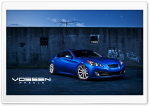 Vossen Hyundai Genesis HD Wide Wallpaper for 4K UHD Widescreen desktop & smartphone