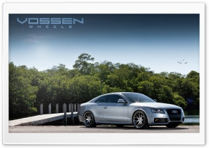 Vossen Wheels Audi CV2 10.5 Around HD Wide Wallpaper for Widescreen