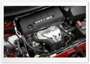 VVT i 16V Engine HD Wide Wallpaper for Widescreen