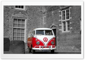 VW Bus Holland HD Wide Wallpaper for 4K UHD Widescreen desktop & smartphone