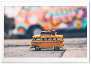 VW Bus Toy Ultra HD Wallpaper for 4K UHD Widescreen desktop, tablet & smartphone