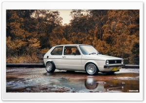 VW Golf MK1 HD Wide Wallpaper for Widescreen