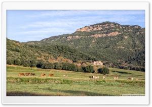 Walking Around Santa Pau La Garrotxa, Catalonia Ultra HD Wallpaper for 4K UHD Widescreen desktop, tablet & smartphone