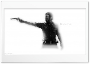 WalkingDead RickGrimes HD Wide Wallpaper for 4K UHD Widescreen desktop & smartphone