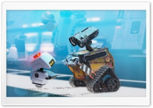 Wall E Ultra HD Wallpaper for 4K UHD Widescreen desktop, tablet & smartphone