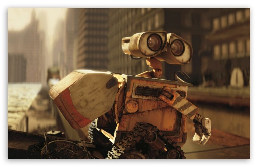 Wall-E In The City HD wallpaper for Wide 16:10 5:3 Widescreen WHXGA WQXGA WUXGA WXGA WGA ; HD 16:9 High Definition WQHD QWXGA 1080p 900p 720p QHD nHD ; Standard 4:3 5:4 3:2 Fullscreen UXGA XGA SVGA QSXGA SXGA DVGA HVGA HQVGA devices ( Apple PowerBook G4 iPhone 4 3G 3GS iPod Touch ) ; iPad 1/2/Mini ; Mobile 4:3 5:3 3:2 16:9 5:4 - UXGA XGA SVGA WGA DVGA HVGA HQVGA devices ( Apple PowerBook G4 iPhone 4 3G 3GS iPod Touch ) WQHD QWXGA 1080p 900p 720p QHD nHD QSXGA SXGA ;