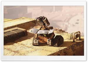 Wall E Looking Up HD Wide Wallpaper for Widescreen