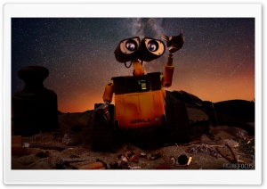 WALL-E Robot HD Wide Wallpaper for 4K UHD Widescreen desktop & smartphone