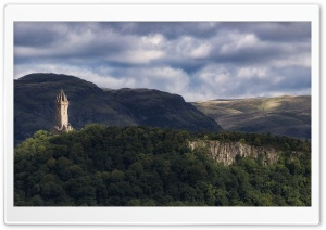 Wallace Monument, Scotland HD Wide Wallpaper for 4K UHD Widescreen desktop & smartphone