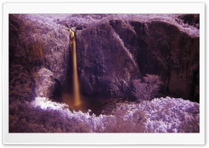 Wallaman Falls HD Wide Wallpaper for Widescreen