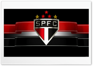 Wallpaper SPFC - black version HD Wide Wallpaper for Widescreen