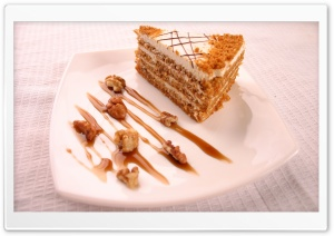 Walnut Cake HD Wide Wallpaper for 4K UHD Widescreen desktop & smartphone