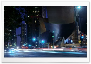 Walt Disney Concert Hall HD Wide Wallpaper for 4K UHD Widescreen desktop & smartphone