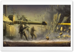 War Art HD Wide Wallpaper for Widescreen
