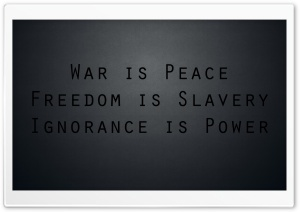 War is Peace HD Wide Wallpaper for Widescreen