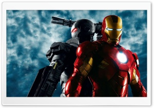 War Machine and Iron Man, Iron Man 2 HD Wide Wallpaper for Widescreen
