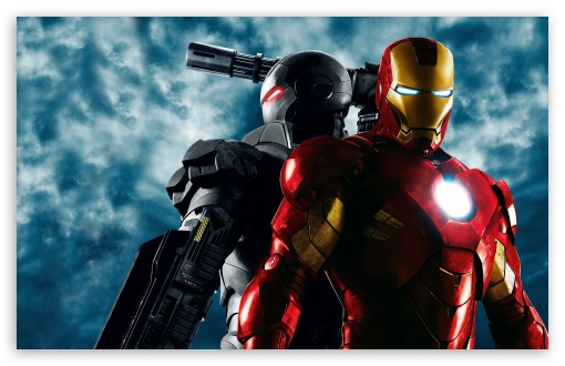 War Machine and Iron Man, Iron Man 2 HD desktop wallpaper