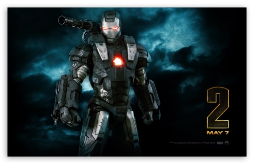 War Machine, Iron Man 2 HD desktop wallpaper : Widescreen : High