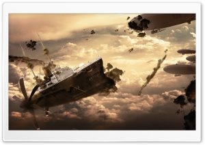 War Ship HD Wide Wallpaper for Widescreen