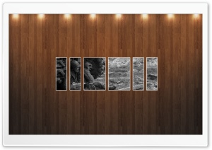 War Vintage Picture   Wood Wall HD Wide Wallpaper for Widescreen