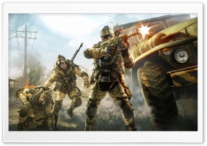 WarFace HD Wide Wallpaper for Widescreen