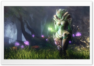 WARFRAME - Venomous Blossom HD Wide Wallpaper for Widescreen
