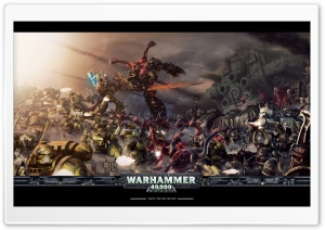 Warhammer 40000 Battle HD Wide Wallpaper for 4K UHD Widescreen desktop & smartphone