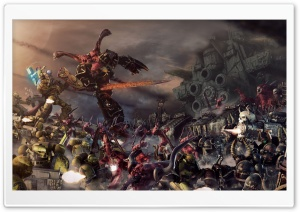 Warhammer 40000 Battle HD Wide Wallpaper for Widescreen