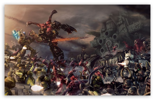 Warhammer 40000 Battle HD wallpaper for Wide 16:10 5:3 Widescreen WHXGA WQXGA WUXGA WXGA WGA ; HD 16:9 High Definition WQHD QWXGA 1080p 900p 720p QHD nHD ; Mobile 5:3 - WGA ; Dual 5:4 QSXGA SXGA ;