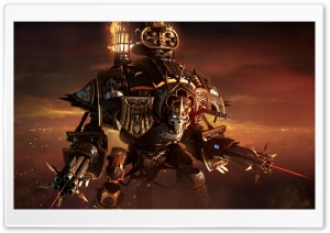 Warhammer 40,000 Dawn of War III 3, Imperial Knight Solaria HD Wide Wallpaper for Widescreen