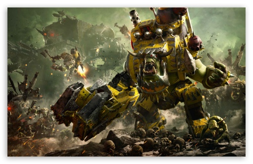 Warhammer 40,000 Dawn of War III 3 Ork Faction UltraHD Wallpaper for Wide 16:10 5:3 Widescreen WHXGA WQXGA WUXGA WXGA WGA ; UltraWide 21:9 24:10 ; 8K UHD TV 16:9 Ultra High Definition 2160p 1440p 1080p 900p 720p ; UHD 16:9 2160p 1440p 1080p 900p 720p ; Standard 4:3 5:4 3:2 Fullscreen UXGA XGA SVGA QSXGA SXGA DVGA HVGA HQVGA ( Apple PowerBook G4 iPhone 4 3G 3GS iPod Touch ) ; Smartphone 16:9 3:2 5:3 2160p 1440p 1080p 900p 720p DVGA HVGA HQVGA ( Apple PowerBook G4 iPhone 4 3G 3GS iPod Touch ) WGA ; Tablet 1:1 ; iPad 1/2/Mini ; Mobile 4:3 5:3 3:2 16:9 5:4 - UXGA XGA SVGA WGA DVGA HVGA HQVGA ( Apple PowerBook G4 iPhone 4 3G 3GS iPod Touch ) 2160p 1440p 1080p 900p 720p QSXGA SXGA ; Dual 16:10 5:3 16:9 4:3 5:4 3:2 WHXGA WQXGA WUXGA WXGA WGA 2160p 1440p 1080p 900p 720p UXGA XGA SVGA QSXGA SXGA DVGA HVGA HQVGA ( Apple PowerBook G4 iPhone 4 3G 3GS iPod Touch ) ; Triple 16:10 5:3 16:9 4:3 5:4 3:2 WHXGA WQXGA WUXGA WXGA WGA 2160p 1440p 1080p 900p 720p UXGA XGA SVGA QSXGA SXGA DVGA HVGA HQVGA ( Apple PowerBook G4 iPhone 4 3G 3GS iPod Touch ) ;