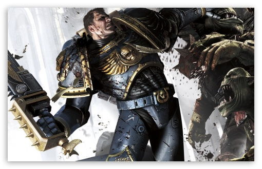 Warhammer 40000 Space Marine Combat HD wallpaper for Wide 16:10 5:3 Widescreen WHXGA WQXGA WUXGA WXGA WGA ; HD 16:9 High Definition WQHD QWXGA 1080p 900p 720p QHD nHD ; Standard 3:2 Fullscreen DVGA HVGA HQVGA devices ( Apple PowerBook G4 iPhone 4 3G 3GS iPod Touch ) ; Mobile 5:3 3:2 16:9 - WGA DVGA HVGA HQVGA devices ( Apple PowerBook G4 iPhone 4 3G 3GS iPod Touch ) WQHD QWXGA 1080p 900p 720p QHD nHD ;