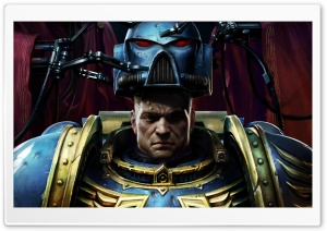 Warhammer 40K Space Marine HD Wide Wallpaper for Widescreen