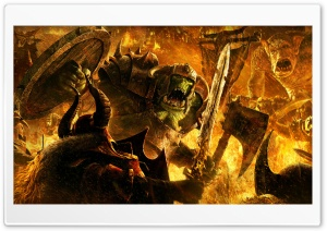 Warhammer: Mark of Chaos HD Wide Wallpaper for Widescreen