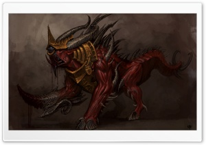 Warhammer Monster HD Wide Wallpaper for Widescreen