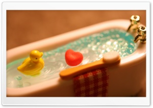 Warm Bath HD Wide Wallpaper for Widescreen